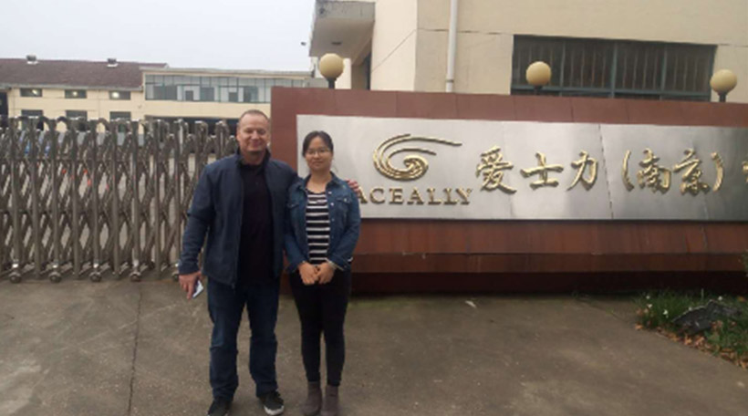 Client from USA Visited Our Headquarter and Factory