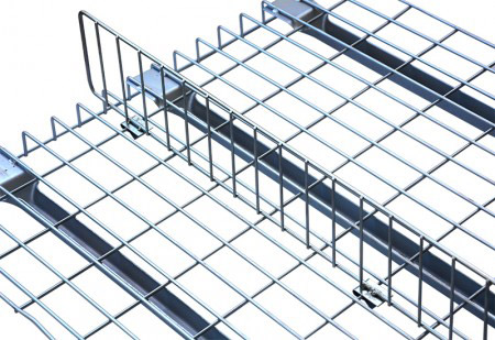 Electro galvanized welded wire mesh decking
