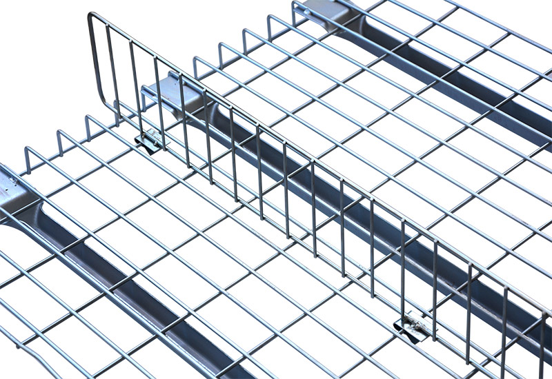 Electro galvanized welded wire mesh decking