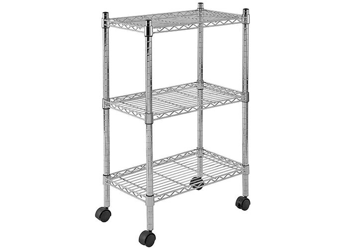 NSF & ISO Approved Chrome Commercial Wire Shelving