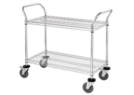 Adjustable steel wire shelving for storage