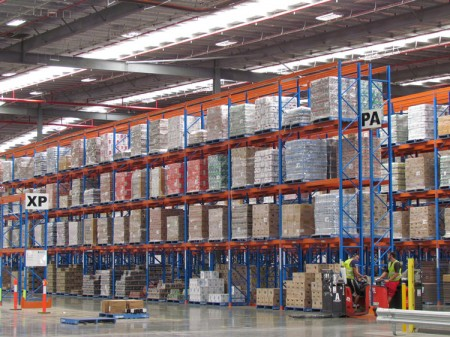 Why do we need to add anti-collision rails to warehouse racks?