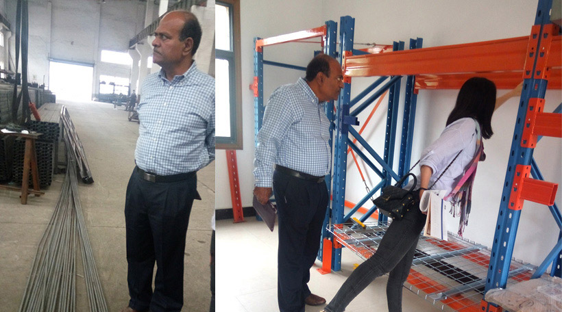 Oman Client Paid A Visit to Aceally Factory on May 12th, 2016