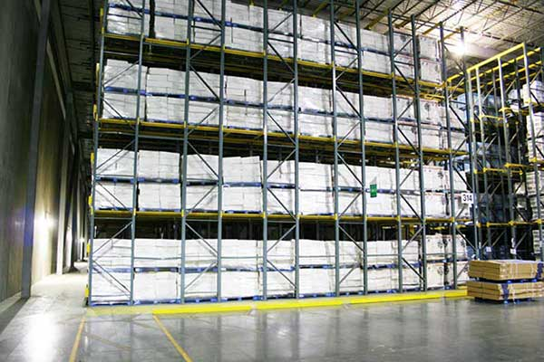 Application of cold storage drive in racking
