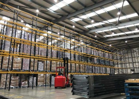 How to design heavy duty steel shelves