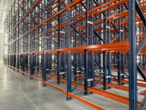 What is heavy duty teardrop pallet racking