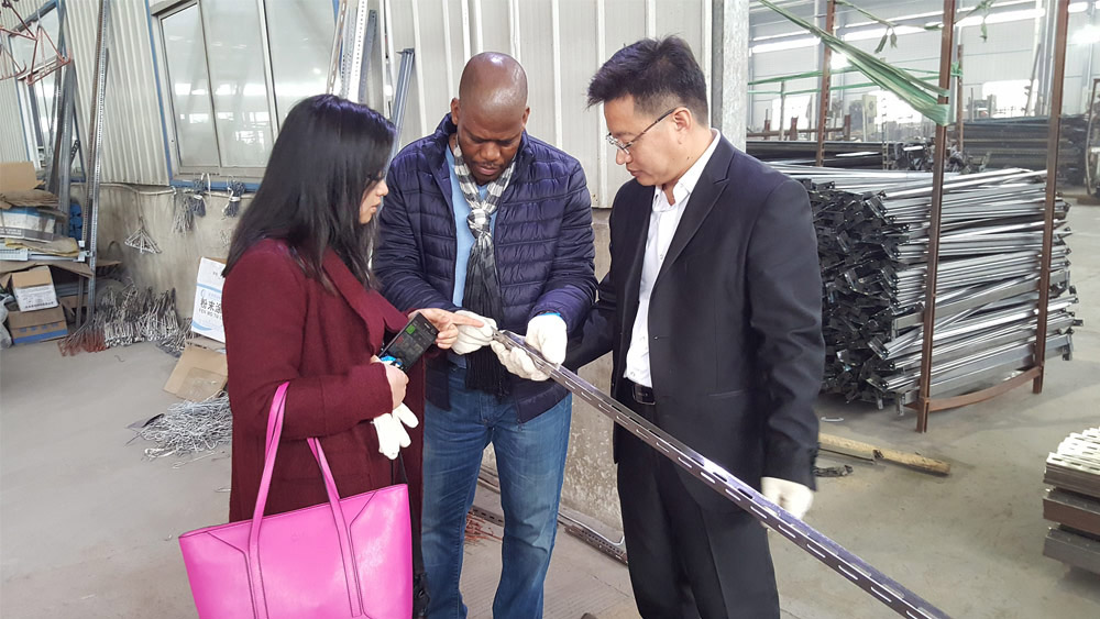 Botswana Client Visited Our New Factories