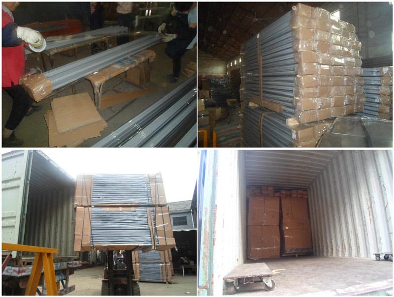 longspan shelving packing