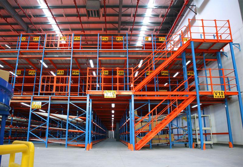 Steel Structure Mezzanine Floor