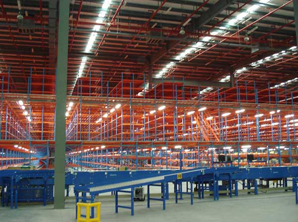 What material to use to produce mezzanine floor pallet racking