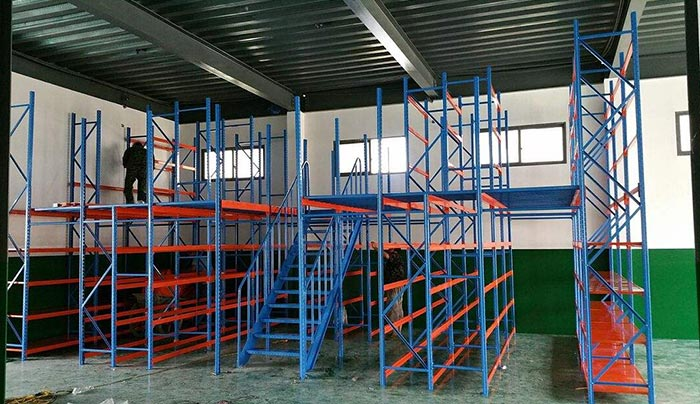 How many questions do you know about the mezzanine floor shelves