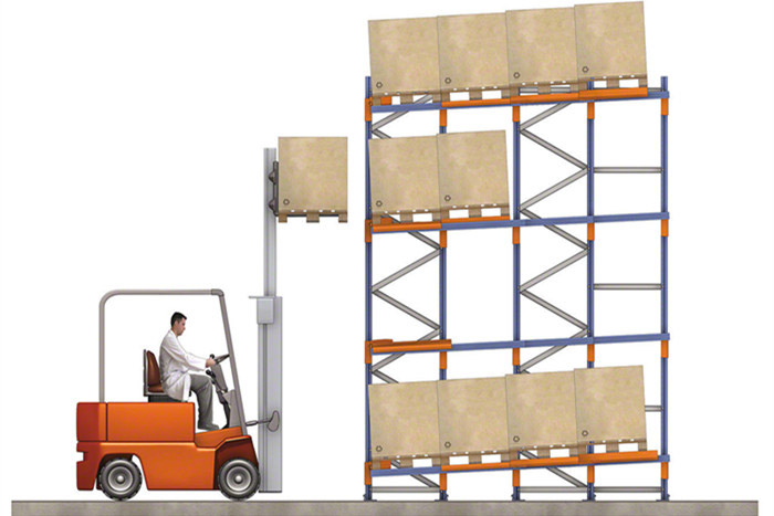 push back pallet rack3