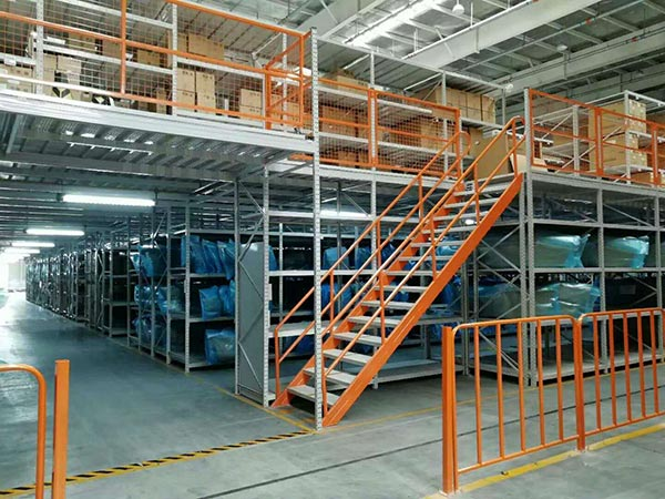 How to make mezzanine racking and plaforms have more storage