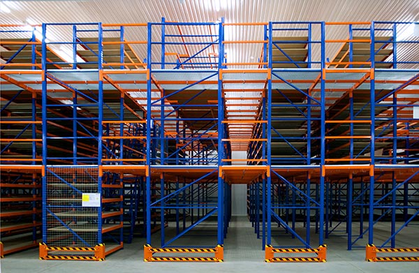 Characteristics and application of mezzanine rack shelving
