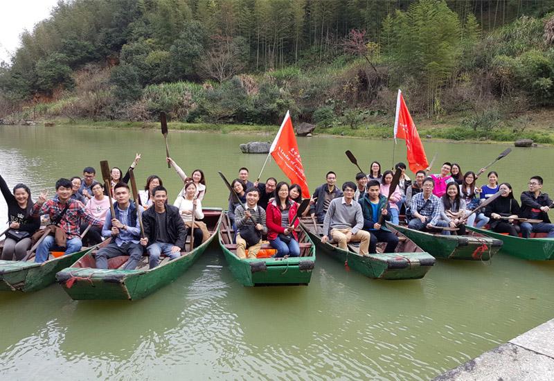 2015年员工旅游合影
