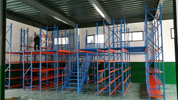 Do you know the mezzanine floor racking system?