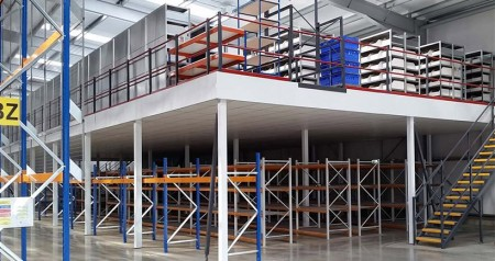 What is a steel structure mezzanine floor