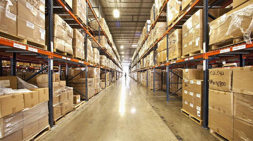 How to calculate the warehouse racking aisle