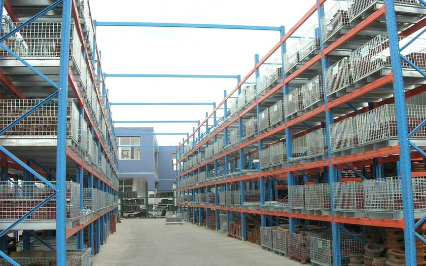 Application Of Wire Container Storage Cage