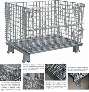 What are the factors that affect the price of wire mesh storage cage
