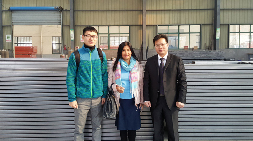 Indonesia Client Visited our factory